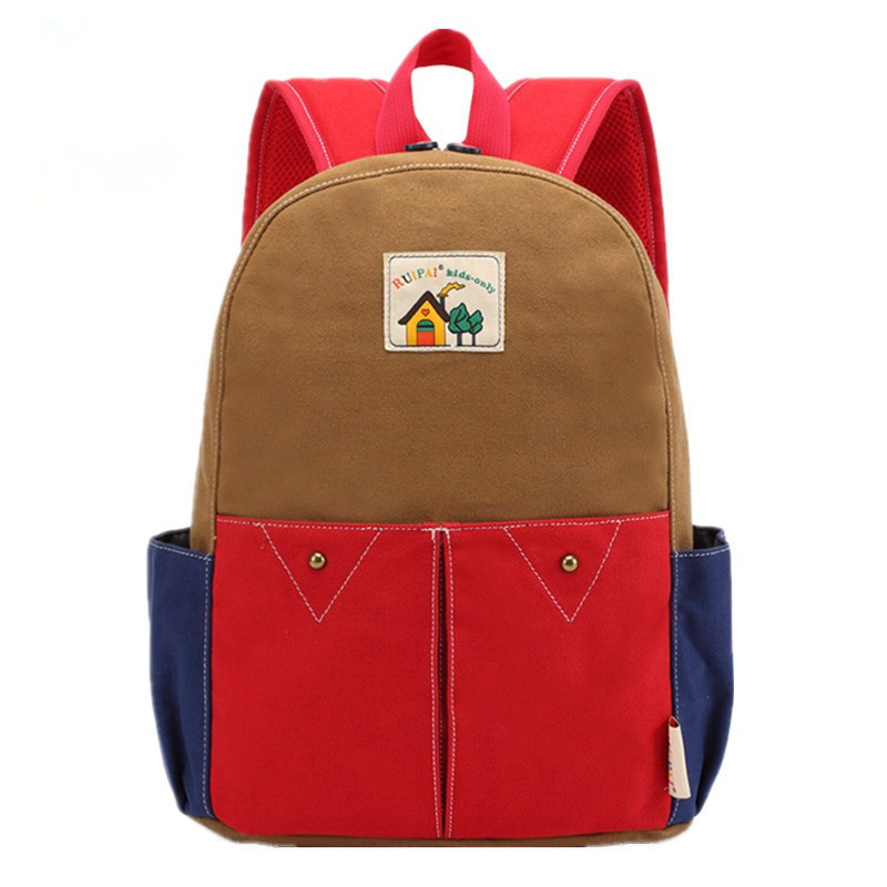 Cute Cartoon Children School Backpack Light Weight Comfortable Canvas Schoolbag Kindergarten Baby Backpack Bags Mochila