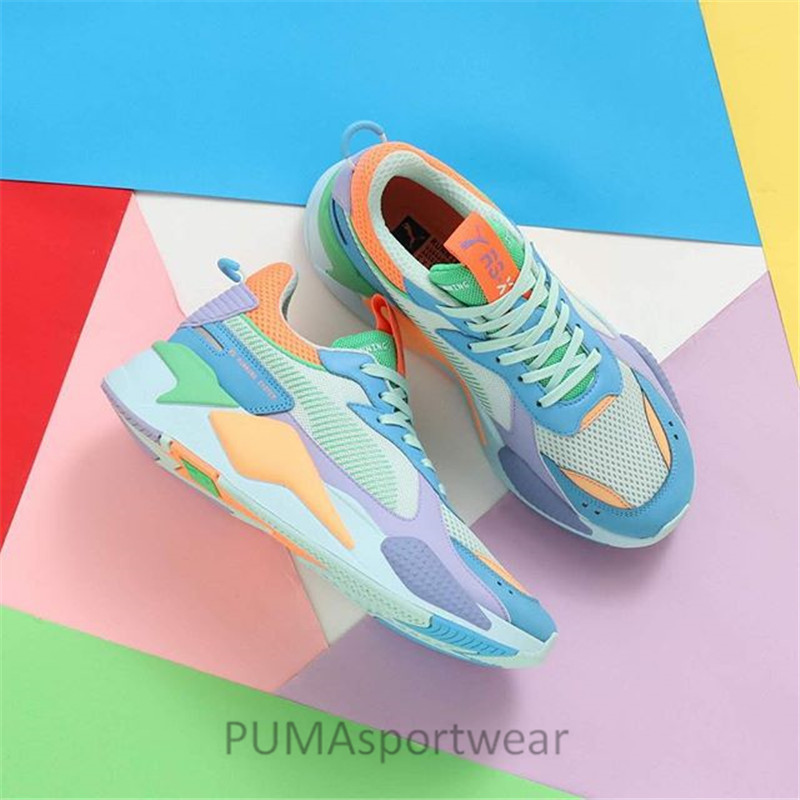 size 40 6d35a c0893 PUMA Size36-45 Badminton Shoes Men s Wome s Sneakers RS-X Reinvention  Unisex Sports