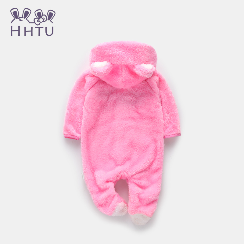 HHTU-Spring-Autumn-Baby-Clothes-Flannel-Baby-Boy-Clothes-Cartoon-Animal-Jumpsuit-Baby-Girl-Rompers-Baby-Clothing-Pajamas-2