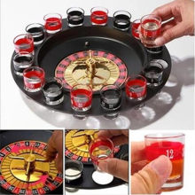 16Pcs/Set Shot Glass Set Russian Roulette Drinking Game Glasses Beer Glass For Wedding Party Bar Wine Glass Shaker For World Cup(China)