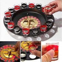 16Pcs/Set Shot Glass Set Russian Roulette Drinking Game Glasses Beer Glass For Wedding Party Bar Wine Glass Shaker For World Cup