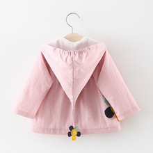 BibiCola newborn jacket spring autumn baby boy girl cotton
