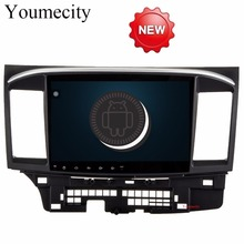 Youmecity 2G RAM Android 7 1 2 DIN Car DVD GPS for MITSUBISHI LANCER