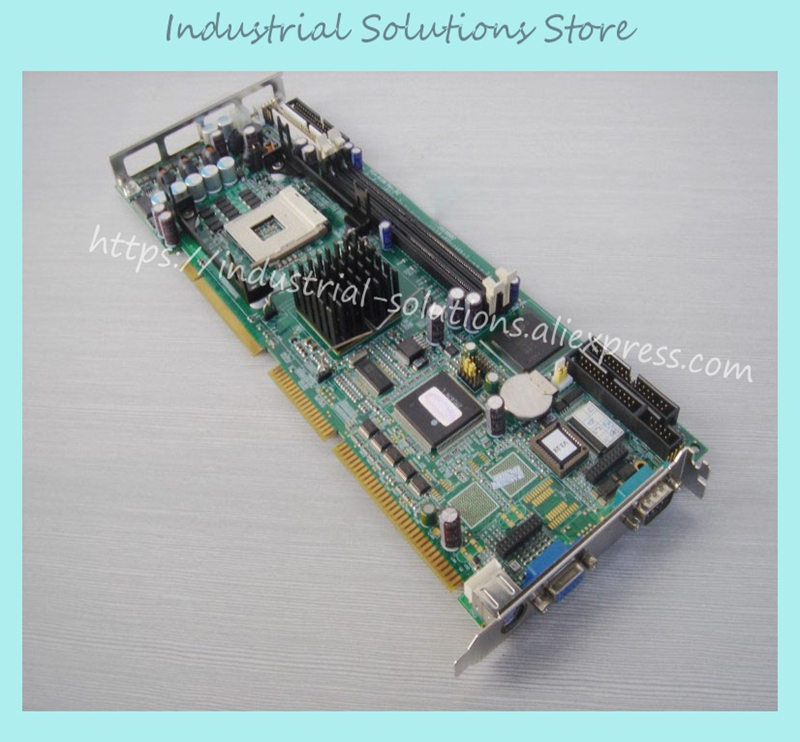 PCA-6186LV REV.B2 p4 full length card industrial motherboard 100% tested perfect quality pca 6003 pca 6003ve a2 industrial motherboard tested good board with fan cpu and ram