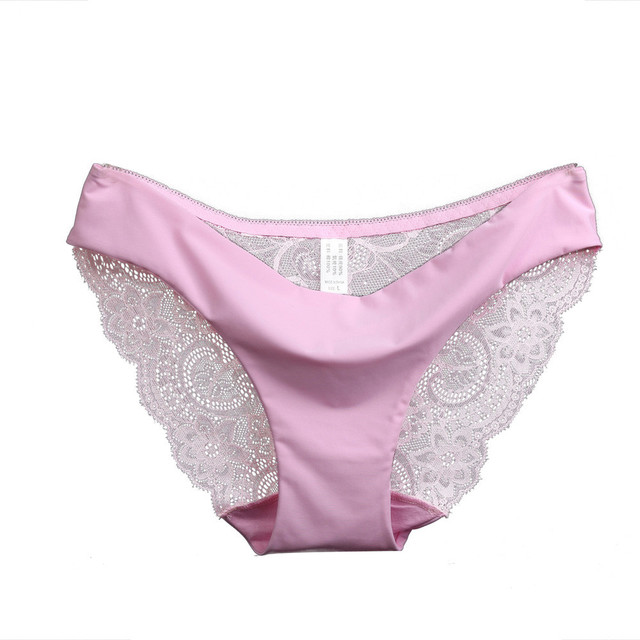 New summer style 7 color plus size Sexy underwear women panties lace briefs Seamless Cotton Panty Hollow Calcinha Bragas #48
