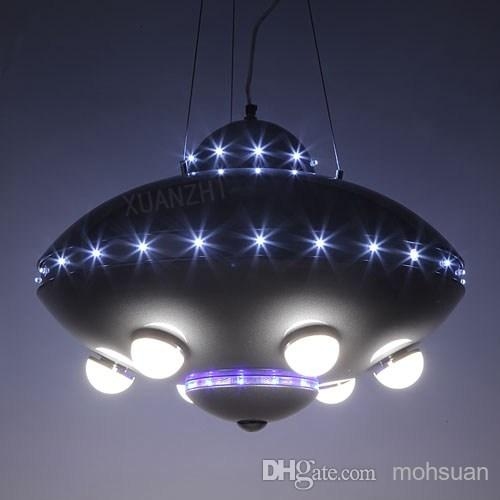 Ufo Aircraft Chandelier Boy Child Children S Room Lamps