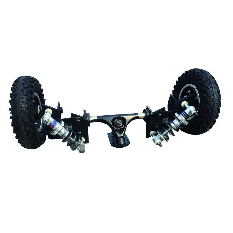 Nouveau Électrique Planche À Roulettes Camions Suspension Pont 7 pouces Longue Planche Camions 200*50mm Cross-Country Planche À Roulettes Whlees
