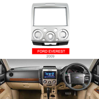 Double Din Stereo Panel for Ford Everest Ranger Mazda BT 50 BT50 Fascia With ISO Wiring Harness Trim Kit Face Frame