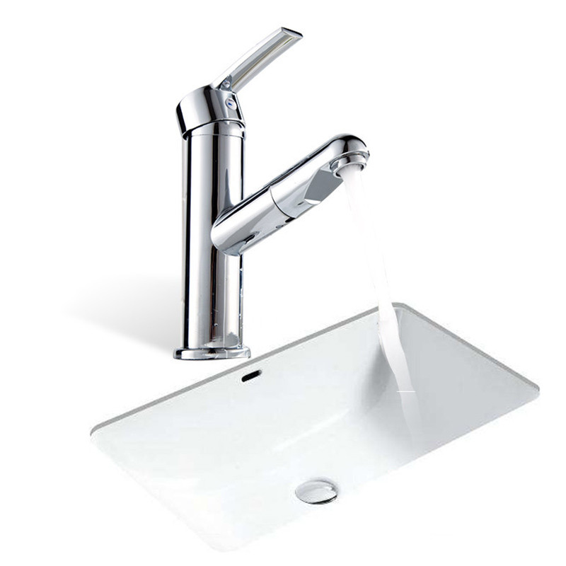 Kitchen Bathroom Faucet Pull Down