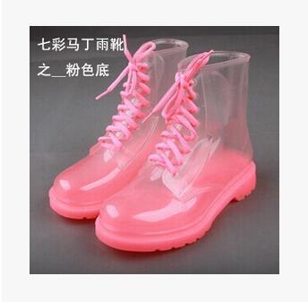 Impermeable Moda 2016 Show Para Candy Goma Redonda Las As 36 Colores Tamaño Punta Transparente Show 40 as Mujer Lluvia Zapatos Mujeres Botas 10rq8wrdf