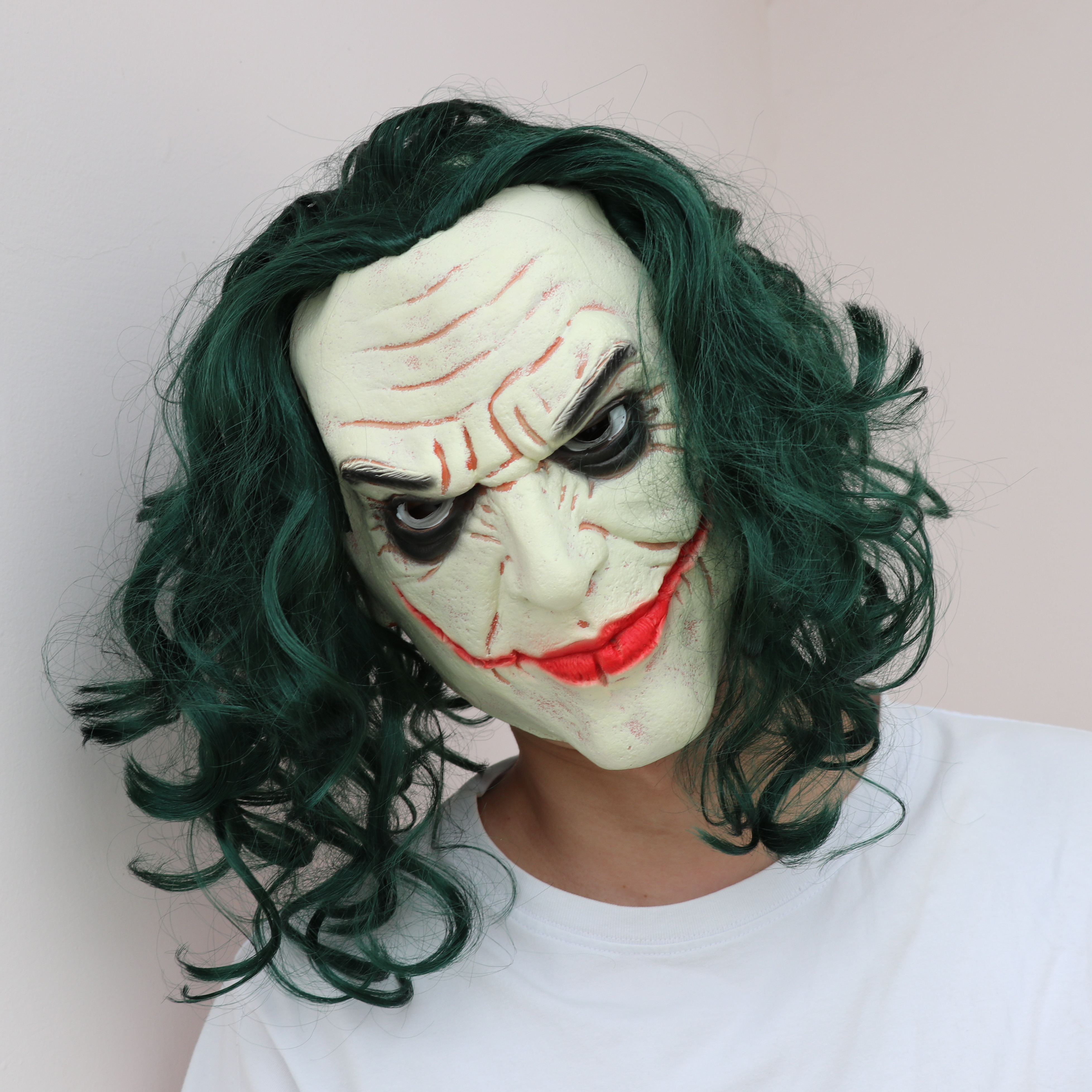 New Movie Batman Joker Mask Cosplay Costumes Props Terror Party Knight of Darkness Latex Masks Perfect Reduction Halloween Gift