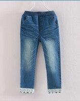 2016 Autumn Children S Clothing Girls Jeans Slim Blue Denim Baby Girl Jeans For Girls Kids
