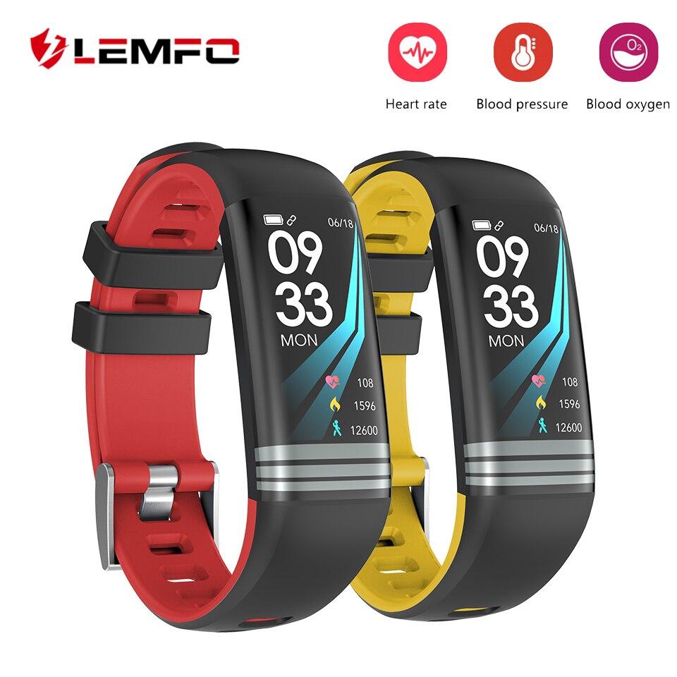 LEMFO Fitness Armband Smart Armband Schrittzähler Herz Rate Überwachung Blutdruck Überwachung Wasserdichte IP67 Fitness Tracker