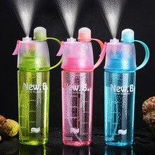Spray Sports Water Bottle Kettle BPA Free Leak Proof Hiking Portable Bottles Bicycle Cycling 400ML/600ML Drinking Shaker