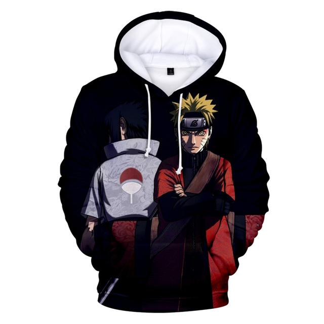 Naruto Akatsuki 3D Hoodies