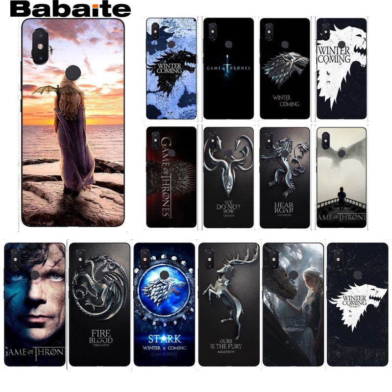 Amiable Babaite Game Thrones Wolf Novelty Fundas Phone Case Cover For Xiaomi Mi 6 Mix2 Mix2s Note3 8 8se Redmi 5 5plus Note4 4x Note5 Catalogues Will Be Sent Upon Request Phone Bags & Cases