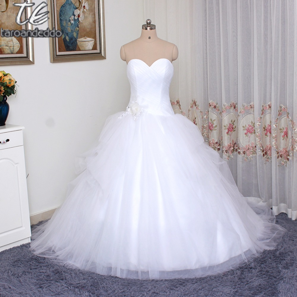 VW351339 New Coming Strapless Wedding Dresses Custom Made