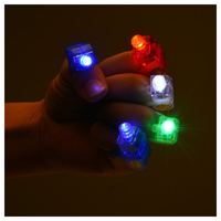 LED Finger Lights Party Bright Finger Flashlights With 4 Colors