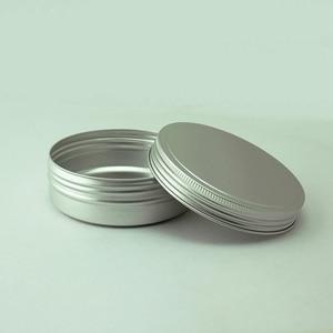 Image 4 - Sedorate 20 pz/lotto 250 ML di Alluminio Rotonda Vasi di Cera Per Auto Capelli cera Cibo Sapone Torta di Luna di Stoccaggio Filo Vaso di Alluminio Casi MC1350