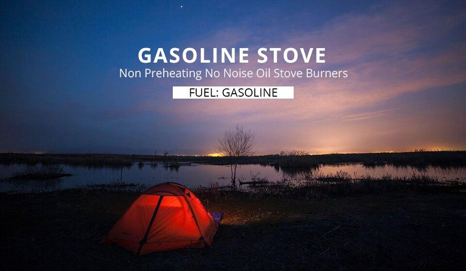 Apg fogão a gasolina de acampamento não