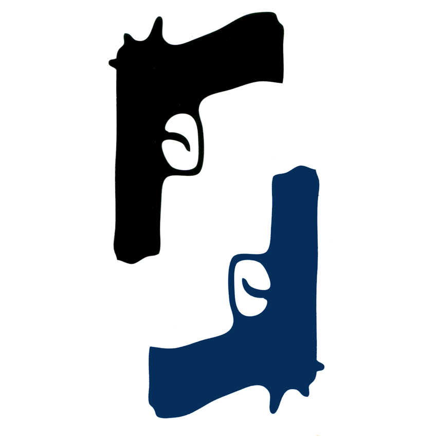 Pria gun Pistol kepribadian Tahan Air sementara tato henna tatoo palsu Taty tatoos tato tubuh seni flash tato