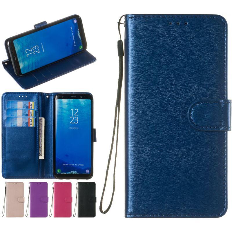 Vintage Cases For HTC Desire 10 Pro U12 Life U11 Plus U Play Ultra M8 Case Simple Solid Single Color Wallet Leather Cover P01Z