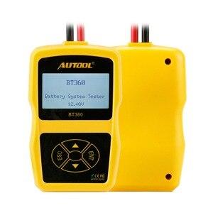 Image 2 - Original autool bt360 auto bateria tester 12 v automotivo bateria analisador 2000cca 220ah multi idioma mau celular teste carro ferramentas