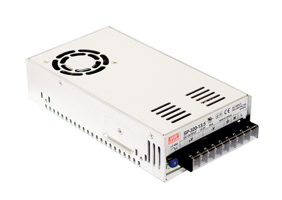 MEAN WELL original SP-320-5 5V 55A meanwell SP-320 5V 275W Single Output with PFC Function Power Supply
