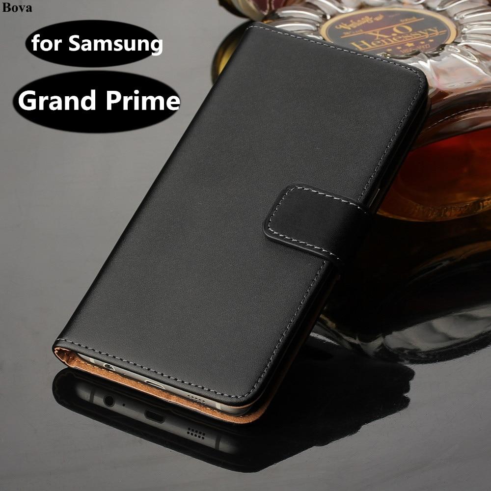 retro läder Flipfodral till Samsung Galaxy Grand Prime G5308w G5306w - Reservdelar och tillbehör för mobiltelefoner