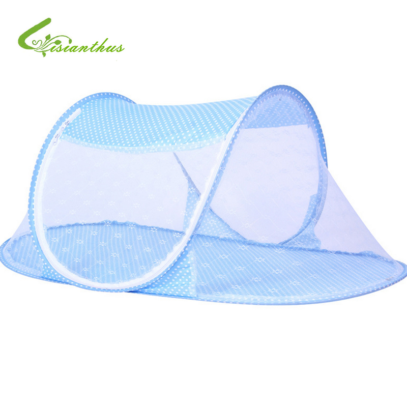 Hot Sale Cute Baby Mosquito Net Crib Portable Type Comfortable Baby Bed Mosquito Net Portable Foldable Baby Bedding Net