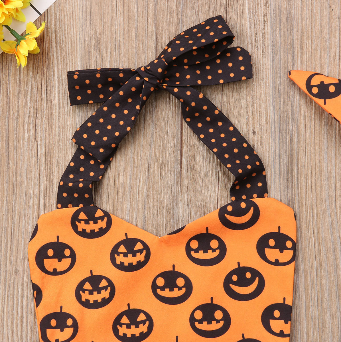 d146c241c Товар Newborn Baby Girl Halloween Scary Face Tutu Romper Sleeveless ...