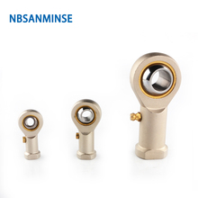 цена на NBSANMINSE  Eye Fish Joint Pneumatic Cylinder Fitting Steel Fitting Connector For ISO6431 ISO6432 ISO05552