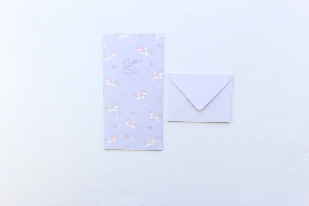 cute kawaii small envelope and letter paper sets material paper size small envelope 9574 mm letter paper 17694 mm
