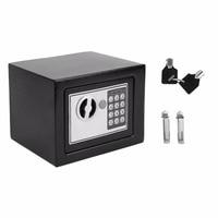 LESHP Electronic Safety Box Household Money Box Safe Deposit Box Digital Jewellery Cash Storage Machine 23x17x17cm