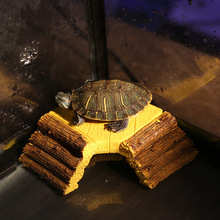 Saim Aquarium Turtle Basking Platform Ornaments Acuarios Clambing Resin Plate Stone Fish Tank Decoration Accessories