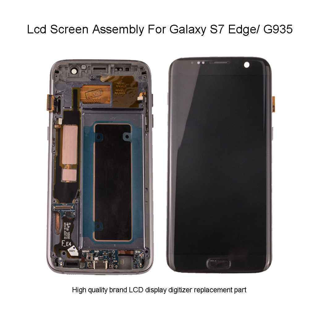 Quality G935 Lcd For Samsung Galaxy S7 Edge LCD Touch Screen Display Digitizer Assembly For Samsung S7 Edge G935 G935F LCD