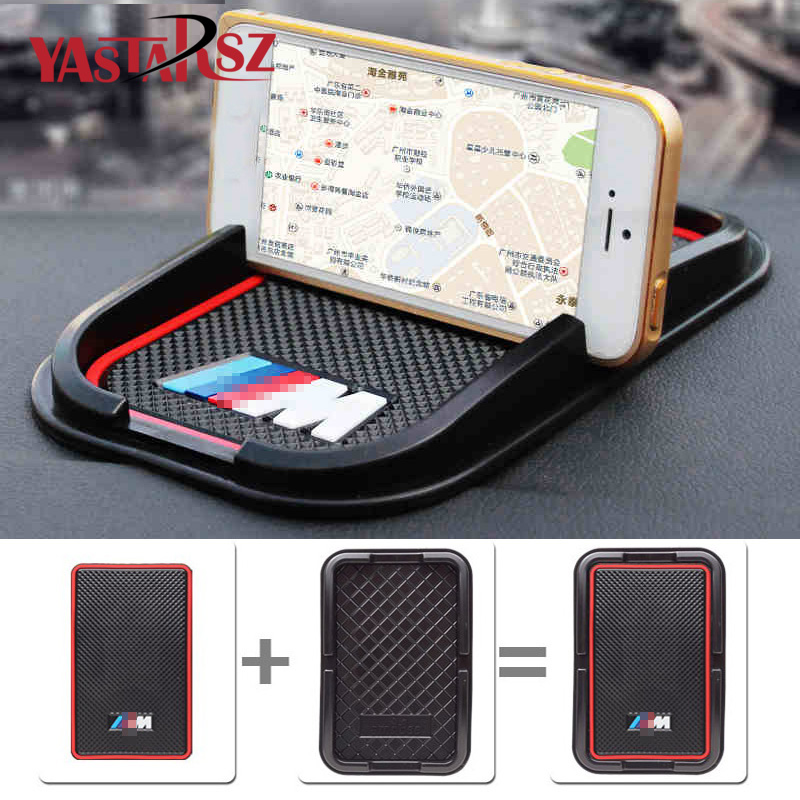 Car Sticker Phone GPS holder M logo For BMW E90 X5 E39 E60 E46 E36 F30 X6 F10 X1 E30 E34 E53 E87 X3 E92 M3 Z4 F25 E65 1 Series cool car auto decoration badge stickers m logo metal 3d car sticker for bmw m3 m5 x1 x3 x5 x6 e36 e39 e46 e30 e60 e92 all model