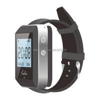 999 channel wireless watch calling receiver, wireless calling system ,wireless waiter/nurse/client call,watch call
