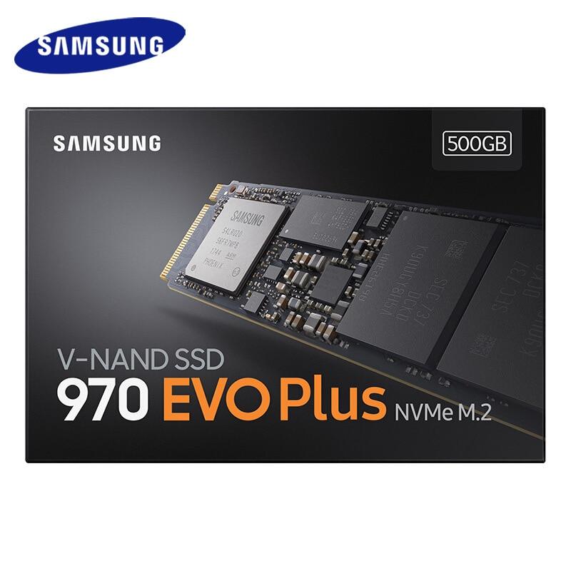 Samsung 970 EVO Plus SSD 250GB NVMe M.2 2280 SSD 500GB 1 to M.2 disque SSD interne TLC SSD PCIe 3.0x4, NVMe 1.3 ordinateur portable