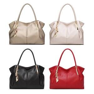 Image 2 - FUNMARDI Bolso de lujo de piel sintética con asa superior para mujer, bolso de hombro femenino, WLHB1778, 2020