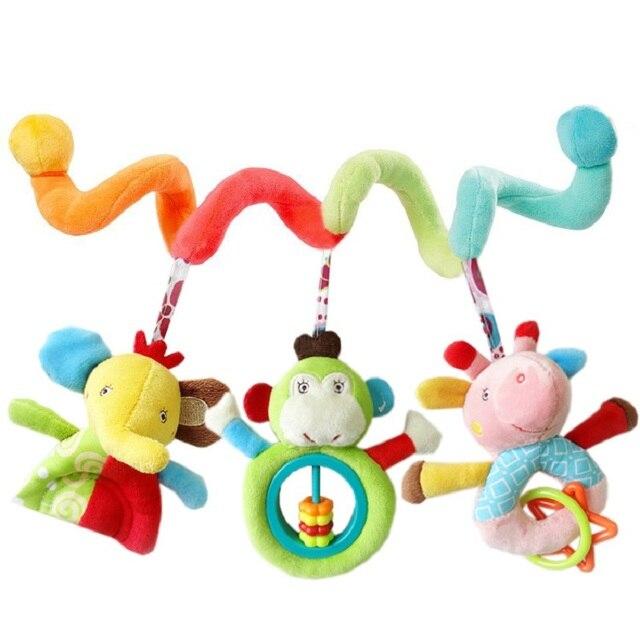 JJOVCE Кровать вокруг toys новорожденных подарки детская кровать колокола детские тележки toys висит прикроватные колокола погремушки