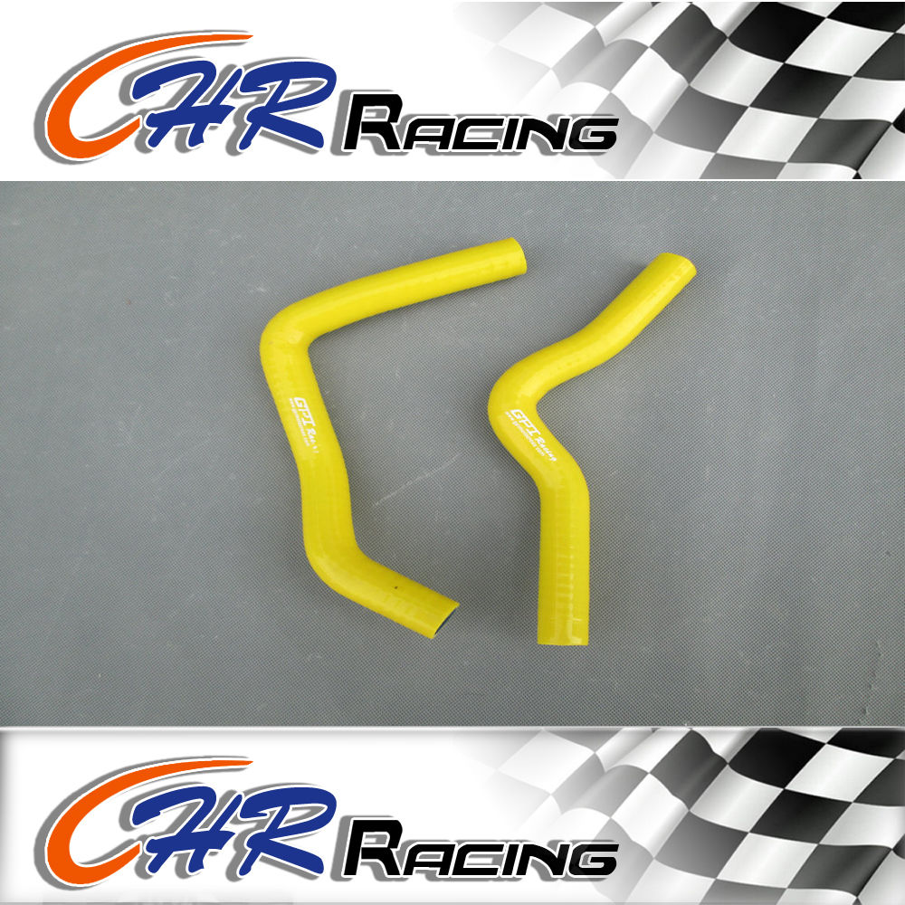 Silicone Radiator Hose for Suzuki RM85 RM 85 2002 2008 02 03 04 05 06 07 08  yellow-in Engine Cooling & Accessories from Automobiles & Motorcycles on ...