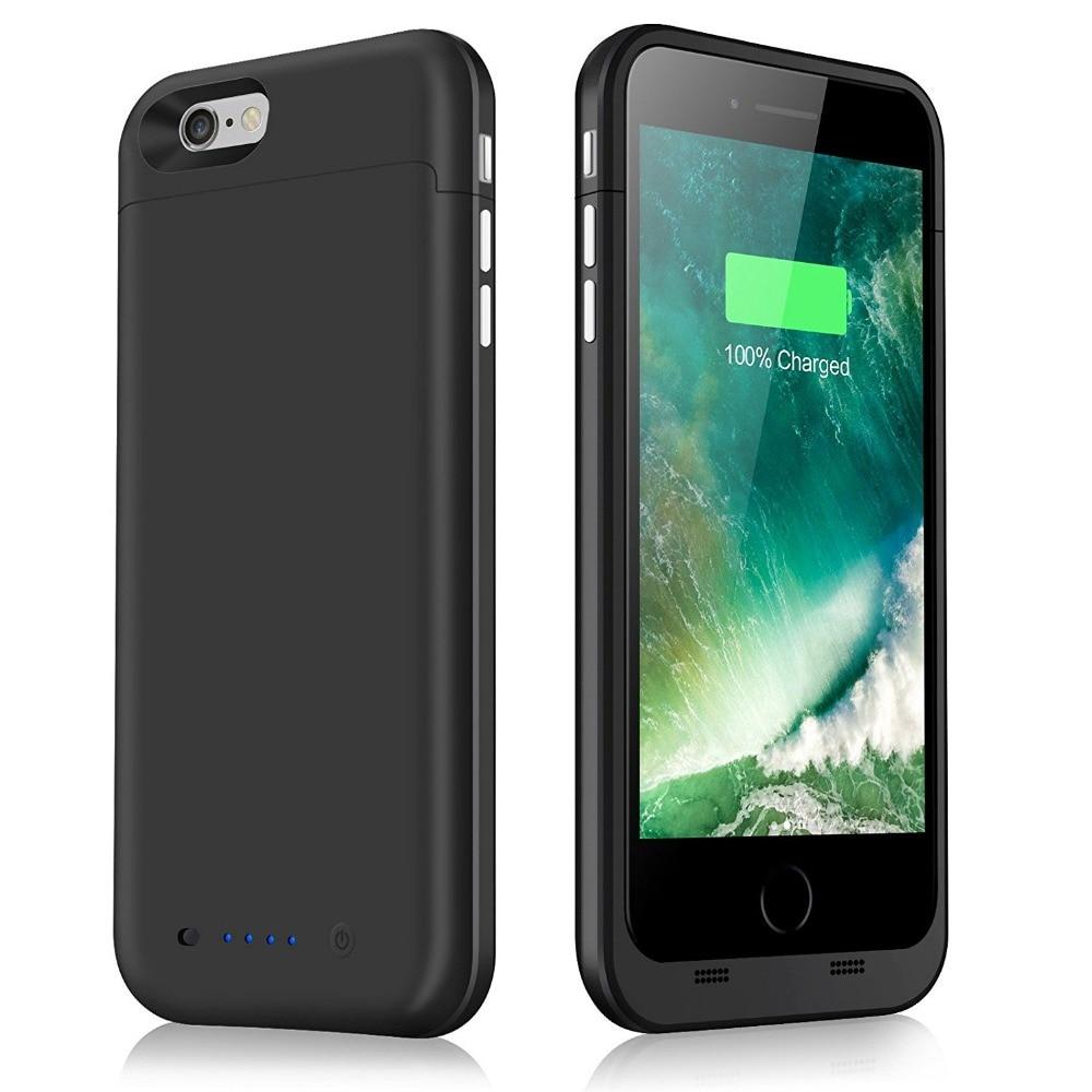 """imágenes para Nueva Caja del Teléfono Batería Externa 6800 mAh Banco Portable de la Energía Caso de reserva Del Cargador iPhone 6 S Plus iPhone 6 Plus 5.5"""""""