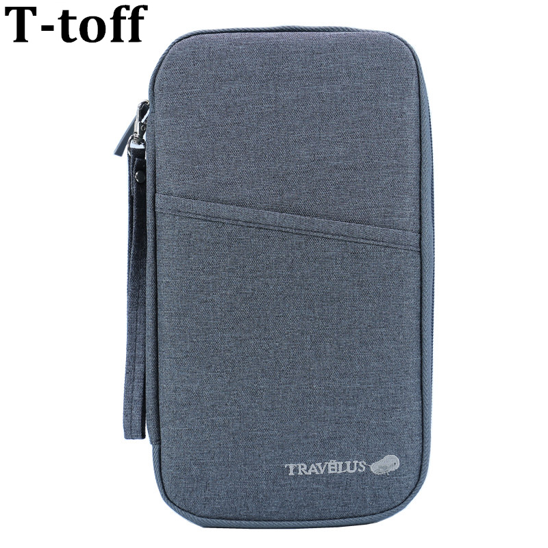Brand Travel Journey Document Organizer Wallet Passport ID Card Holder Ticket Credit Card Bag Case Free Shipping