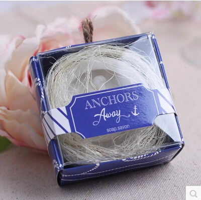 Beach Themed Wedding Favor Anchor Soap Wedding Gifts Guest Souvenirs