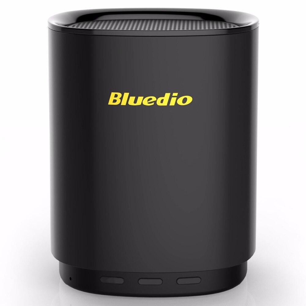 Bluedio TS5 мини-динамик bluetooth Портативный Беспроводной звукового сопровождения Системы с микрофоном поддерживается голосовой Управление громкоговоритель