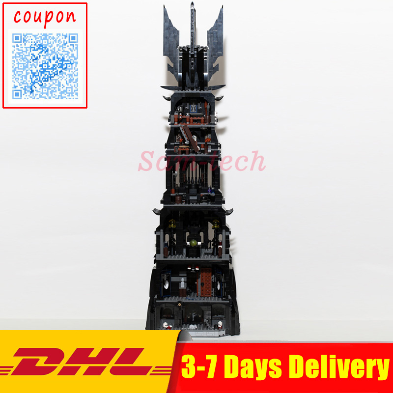 IN STOCK DHL LEPIN 16010 2430Pcs Lord of the rings Lord of the rings Model set Building Kits Model Compatible10237 толстовка wearcraft premium унисекс printio властелин колец lord of the rings