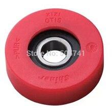 Elevator wheel 80mm , Escalator step wheel 80*25 bearing 6206-2rs F01.FCCCA.002A
