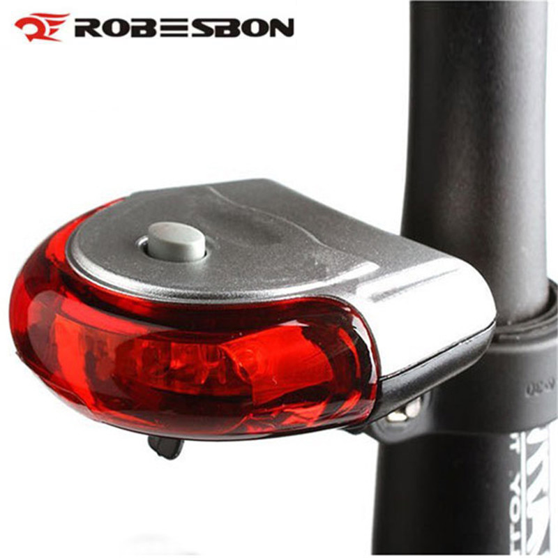 robesbon bicycle rear tail light red led flash lights cycling night safety warning lamp bike. Black Bedroom Furniture Sets. Home Design Ideas