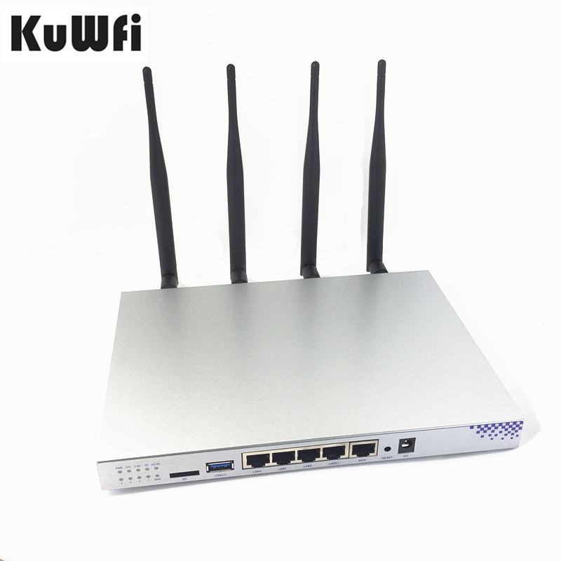 1200Mbps Wireless WIFI Router Gigabit port OpenWrt Router Dual Frequency IEEE802 11AC N G B A